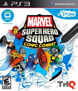 uDraw Marvel Super Hero Squad Comic Combat per PS3