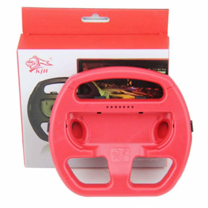 volante wheel controller joy-con nintendo switch rosso ideale mario kart